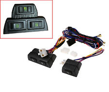 1 UNIVERSAL ELECTRIC POWER WINDOW SWITCH KIT FOR 2 DOOR CONVERSION 3 SWITCH K2S