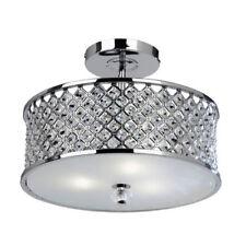 Artículos de iluminación de techo de interior Endon Lighting color principal plata de cristal