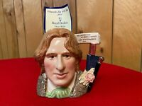 """Royal DoultonD7146Oscar Wild2000Large - 7""""With CertificateCharacter Jug of"""