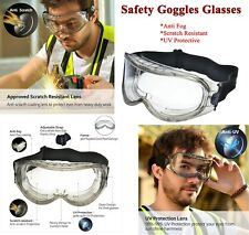 High Quality Safety Goggles Glasses Anti-fog Scratch Resistant UV Protective NO1