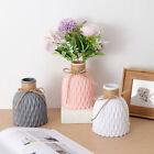 Nordic Style Plastic Flower Vase Container Vase Art Ornaments Home Decoration
