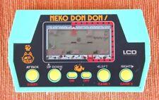 Very RARE Game & Watch Style LCD: NEKO DON DON! (TAKATOKU), Very Good Condition!