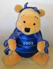 Peluche Winnie the Pooh 15 cm millenium bug pooh 2003 vintage plush ladybug