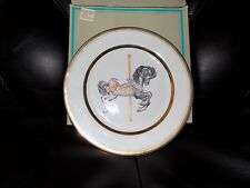1987 Carousel Memories Plate by Willitts Designs New In Box #2281 Limited Ed.