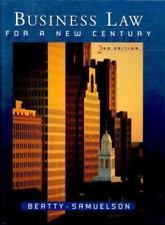 BUSINESS LAW FOR A NEW CENTURY By Susan S. Samuelson - Hardcover