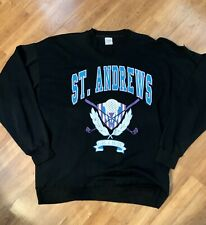 St Andrews Old Course Golf Sweater Mens Xl Lightweight Sweater