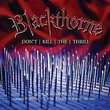 Blackthorne - Blackthorne II: Dont Kill The Thrill [CD]
