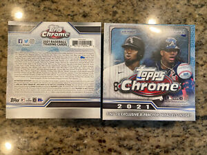 2021 Topps Chrome Baseball Mega Box Factory Sealed. Lot Of 2!!⚾️⚾️⚾️