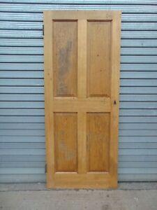 Reclaimed Solid Oak External Internal Wooden Door 950
