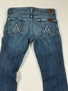 7 For All Mankind Women Jeans 26 (actual 28x29)