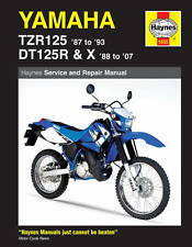 HAYNES WORKSHOP MANUAL for YAMAHA DT125 & TZR125 1987 to 2007