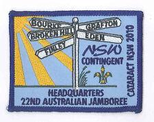 AJ2010 - AUSTRALIA SCOUT NATIONAL JAMBOREE -  NEW SOUTH WALES HQ SCOUTS PATCH