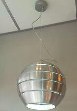 Lampara de techo colgante diseño Moderno,Bola de aluminio con interior en blanco
