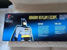 """vtg old DC DIRECT BATMAN, """"ARKHAM ASYLUM ESCAPE"""" FIGURE SET NEW!"""