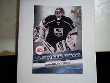 11-12 UD ULTIMATE TEAM INSERT CARD #15  JONATHAN QUICK