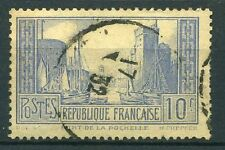 """FRANCE STAMP TIMBRE N°261d  """"PORT LA ROCHELLE 10F OUTREMER TYPE II """" OBLITERE TB"""
