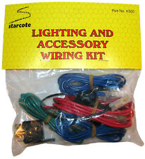 UNIVERSAL 12V FOG/SPOT/DRIVING LAMP/LIGHT FUSED WIRING LOOM HARNESS KIT + RELAY