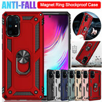 Hybrid Rugged Armor Case for Samsung Galaxy S20 Plus/S20 Ultra Ring Holder Cover