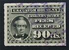 nystamps US Revenue Stamp # RL8 Used $100       O15y114