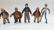 5 x Saba bucherer Swiss made, CHARLIE CHAPLIN + other 1920-1930s