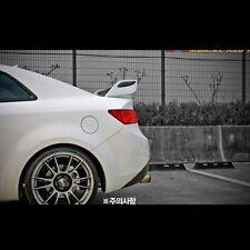 SPEC-GT RearTrunk Wing Spoiler Unpainted For Kia Forte Koup 2009~2013+