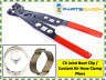 CV Joint Boot Clip / Coolant Air Hose Clamp Pliers Drive Shaft Garage Tool 6-7