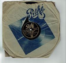 78T 25 cm Guy BERRY Disque Phono. QU'AVEZ VOUS FAIT DE MON AMOUR - PATHE 94439