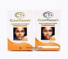 2Pcs of CT+ Clear Therapy Litening Purifying Soap / with Carrot Oil (Brand New)