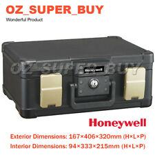 Honeywell Molded Water & Fireproof File Chest W/ Carry Handle 167x406x320mm AU