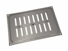 NEW 12 -X OF Bright Chrome Hit And Miss Louvre Vents Ventilation Cover 9 X 6 Inc