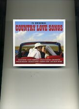 COUNTRY LOVE SONGS - JIM REEVES MARTY ROBBINS DOLLY PARTON - 3 CDS - NEW!!