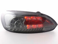 ALL SMOKED LED REAR LIGHTS FOR VW SCIROCCO PREFACELIFT MODEL 2008 ON