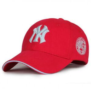 Unisex New York Yankees Baseball Hat Sport Snapback Cap Cotton