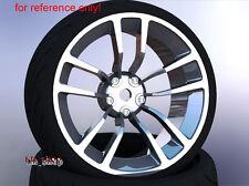 4X Flat Drift Tires Wheel Rim Fit HPI 1:10 RC On-Road Car SBDC+PP0369 6mm Offset