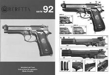 FIREARM Manuals including Pistols, Machine Guns and more...