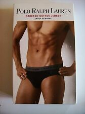Ralph Lauren Polo Underwear Mens 1 Pouch Brief Sz Small S-28-30 Blk NIP