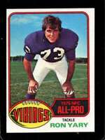 1976 TOPPS #30 RON YARY NM VIKINGS AP *SBA11746