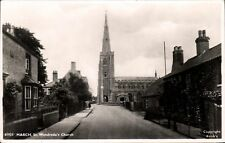 March. St Wendreda's Church # 81924 by Frith.