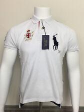 Ralph Lauren Mercer Polo Hemd Herren Poloshirt Polo T-Shirt Big Ponny Gr. M NEU