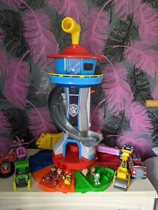 Paw patrol my size lookout tower Bundle
