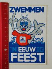 Aufkleber/Sticker: Zwemmen 'N Eeuw Ig Feest (230217142)