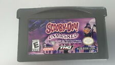 Scooby Doo Unmasked (Nintendo GameBoy Advance, 2005) TESTED, Working!(091904)