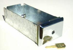 "8"" ESD 71630XD Coin Box/ Greenwald equivalent/ Keyed alike"