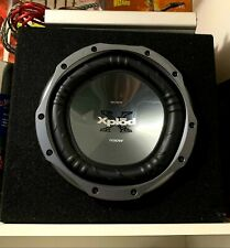 Sony Xplod Subwoofer with Virtual Reality Labs Channel Amplifier