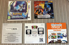 *NO GAME* POKEMON MOON VERSION CASE & LEAFLETS ONLY NINTENDO 3DS 2DS