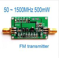 50 ~ 1500MHz 500mW FM transmitter broadband RF power amplifier 0.5W