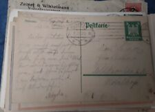 DR pre stamped postcard posted in Munich 02.07.1925