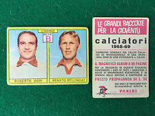 CALCIATORI 1968/69 68/1969 LIVORNO GORI BELLINELLI Figurina Sticker Panini (NEW)