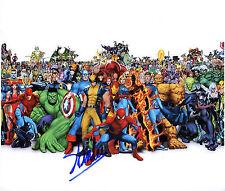 REPRINT - STAN LEE 2 Marvel Comics Legend Avengers autographed signed photo copy