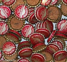 Soda pop bottle caps Lot of 25 SUN RISE STRAWBERRY cork lined new old stock